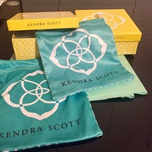 Kendra Scott Yellow Gift Boxes
